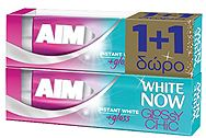 Aim White Now Glossy 50ml 1+1 Δώρο 8710908724268