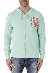 Franklin Marshall Fleece Zip Hooded FLMF069ANBS8