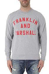 Franklin Marshall Fleece Round Neck Βαμβακερή FLMF272ANS18