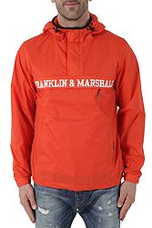 Franklin Marshall Nylon Hooded Αντιανεμικό JKMF104ANS18