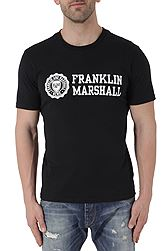 Franklin Marshall Jersey Round Neck Classic Fit Βαμβακερό TSMF356ANS18