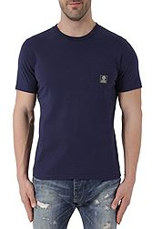 Franklin Marshall Jersey Round Neck Classci Fit Βαμβακερό Pocket TSMF358ANS18