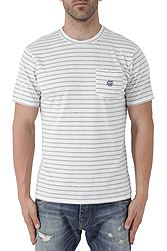 Franklin Marshall Round Neck Jersey Ριγέ TSMF376ANS18