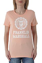 Franklin Marshall Jersey Round Neck Short TSWF586ANS18