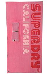 Superdry D2 SURF PINK BEACH TOWEL ΑΞΕΣΟΥΑΡ ΓΥΝΑΙΚΕΙΟ G98ME000