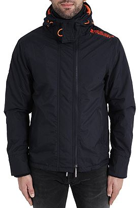 Superdry Pop Zip Hood Arctic Windcheater M50009ZNF4