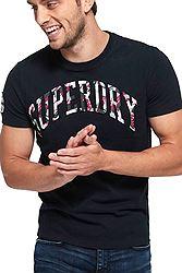 Superdry Camo Embossed Tee M10101AT