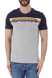 Superdry Cali Stripe Embroidery Tee M10104TT