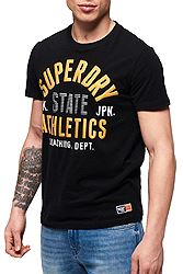 Superdry Track & Field Lite Metallic Tee M10107AT