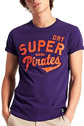 Superdry COLLEGIATE GRAPHIC LW TEE M1011193A