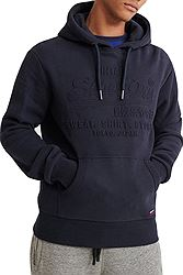Superdry Embossed Hood M2000047B
