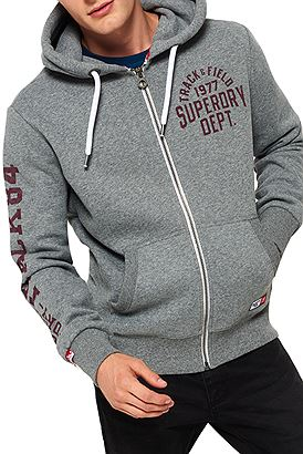 Superdry Trackster Ziphood M20084XPF6