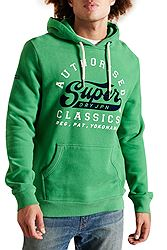 Superdry Script Style Col Hood M2011386A