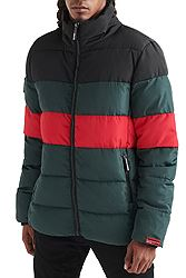 Superdry Colour Stripe Sports Puffer M5000012A