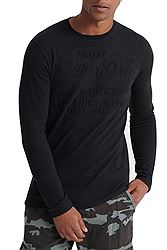 Superdry Embossed LS Tee M6000015A