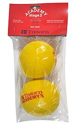 Tretorn Academy Red Zone Stage 3 2Pack 474245