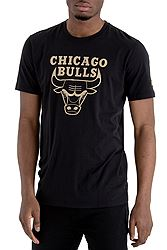 New Era Chicago Bulls Black 'n' Gold Graphic Tee 11530771