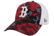 New Era Boston Celtics Camo Trucker 11945570