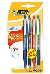 Bic Atlantis Refresh 3+1 Δώρο 0070330137066