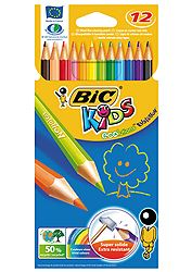 Bic Kids Evolution (12 τεμ) 3270220060963