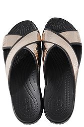 Crocs Sloane Hammered Metallic Cross-Strap 205136