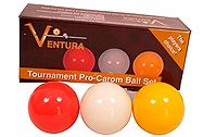Ventura Tournament Pro-Carom Ball Set 61,5 mm tournament-pro-carom