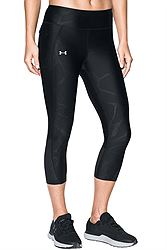 Under Armour Fly By Printed Capri 1297934