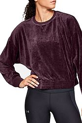 Under Armour Be Seen Velour Boyfriend Crew 1341555