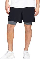 Under Armour Qualifier 2-in-1 Shorts 1345320