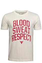 Under Armour Project Rock Blood Sweat Respect 1351843