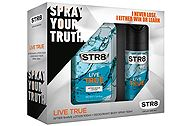 Str8 Live True After Shave 100ml + Αποσμητικό Spray 150ml 5201314080206