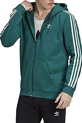 adidas originals 3 Stripes Fleece Hoodie EK0258