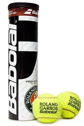 Babolat Ball French Open X4 502034