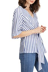 Garcia Jeans Striped Wrap-Over B90235
