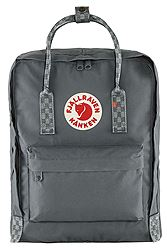 Fjallraven Kanken Super Grey Chess Pattern 23510-046-904