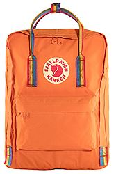 Fjallraven Kanken Rainbow Burnt Orange-Rainbow Pattern 23620-212-907