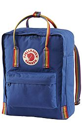 Fjallraven Kanken Rainbow Deep Blue -  Rainbow Pattern 23620-527-907