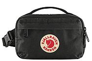 Fjallraven Kanken Hip Pack Black 23796-550