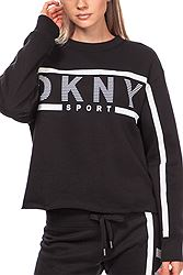 DKNY Logo Fleece -  Exploded Stripe DP9T6845