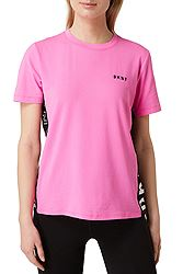 DKNY Color Block Flip Logo Tee DP9T7154